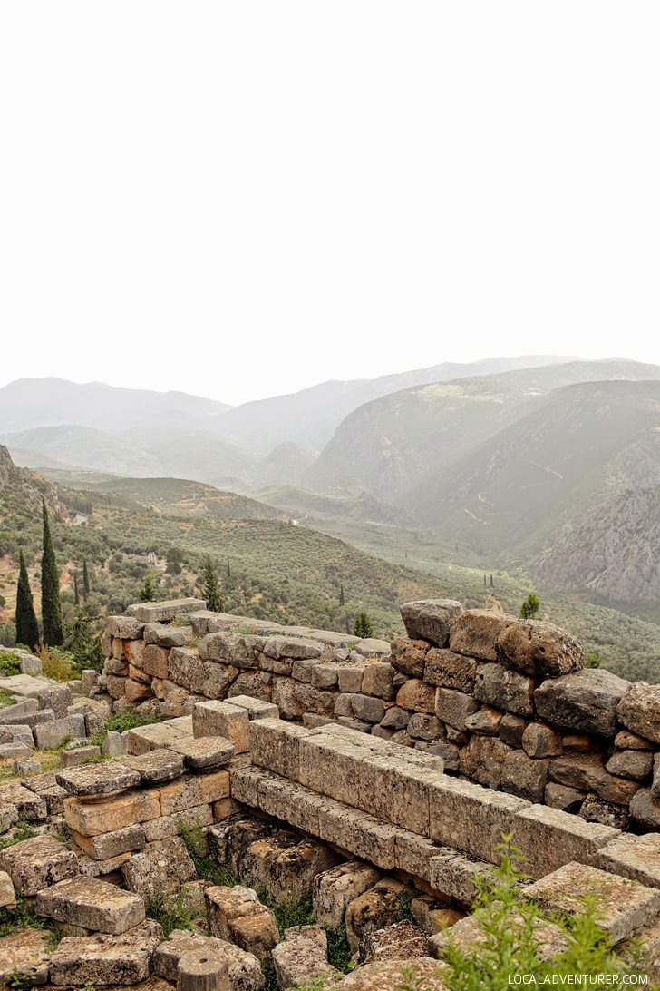 Delphi Greece Attractions.
