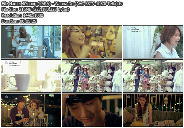 [PV] Jiyoung (KARA)   Wanna Do (SSTV HD 1080i)