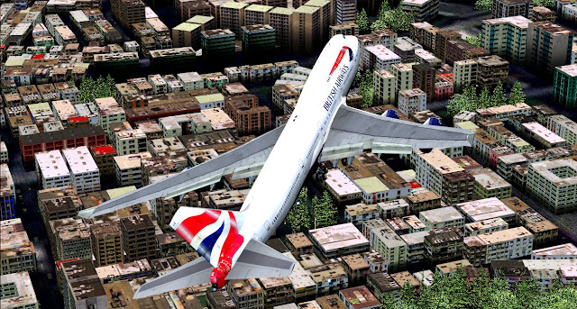 [FS9] VHHX - British Airways Imagem