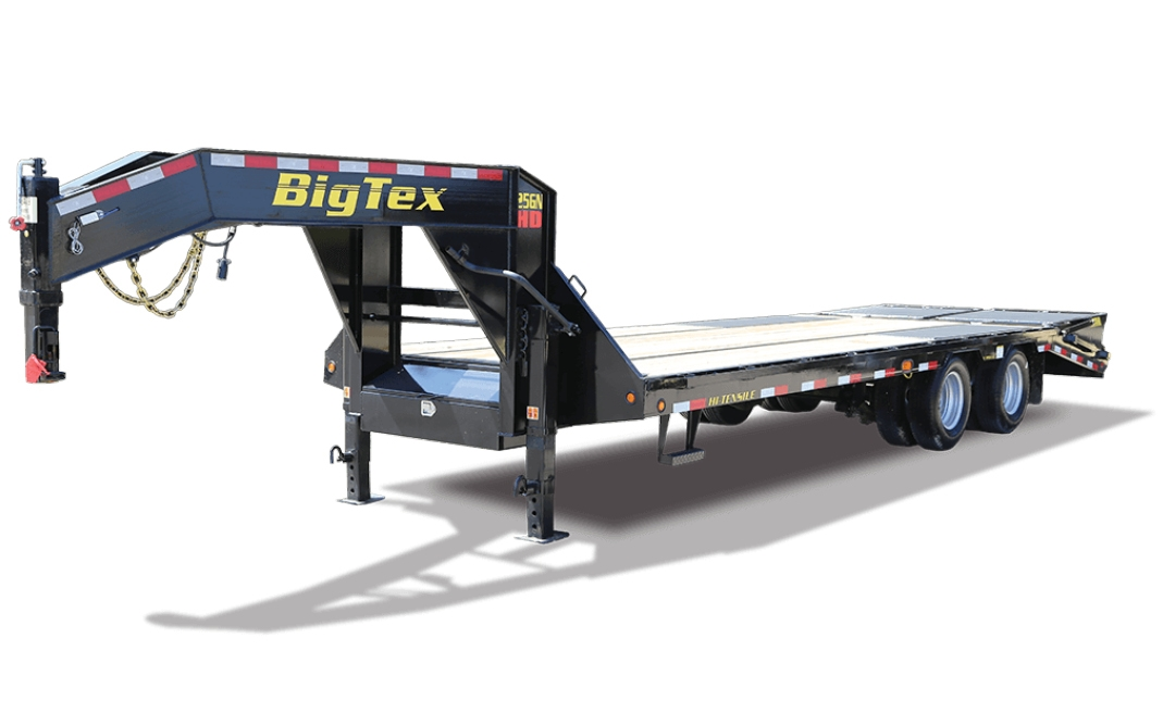 BIG TEX 22GN HD TANDEM DUAL-AXLE GOOSENECK