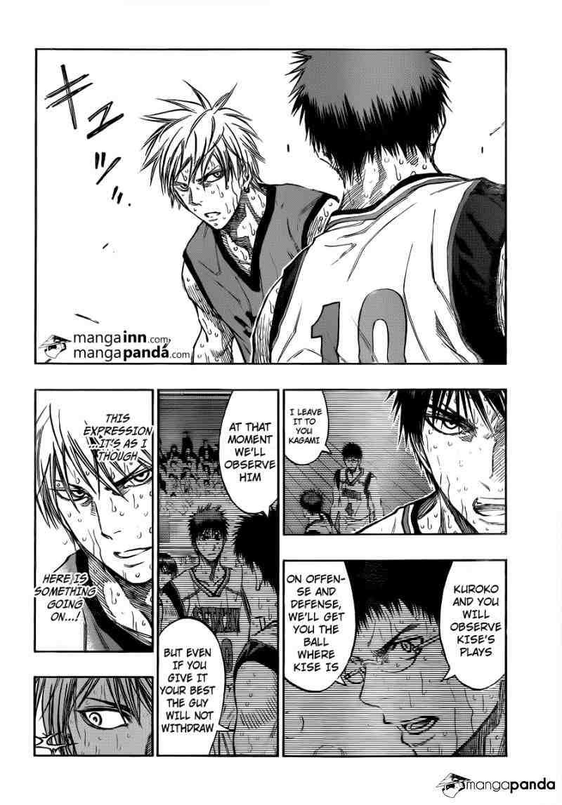 Kuroko no Basket Manga Chapter 199 - Image 08
