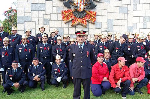 O novo Comandante, Nelson Cruz destacou as potencialidades e capacidades do corpo dos Bombeiros caldenses