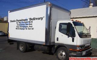 dania furniture delivery