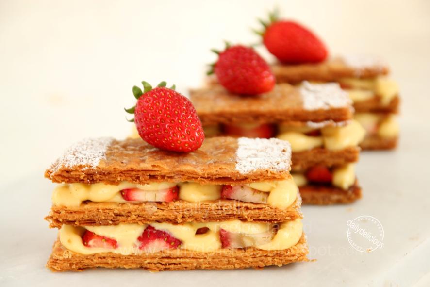 Recipe For Strawberry Banana Cake Filling
