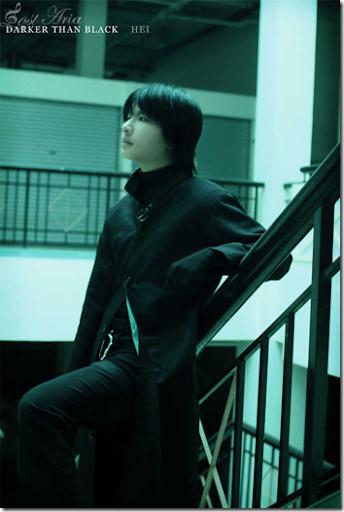 darker than black: kuro no keiyakusha cosplay - hei 3 by symphony of lost aria
