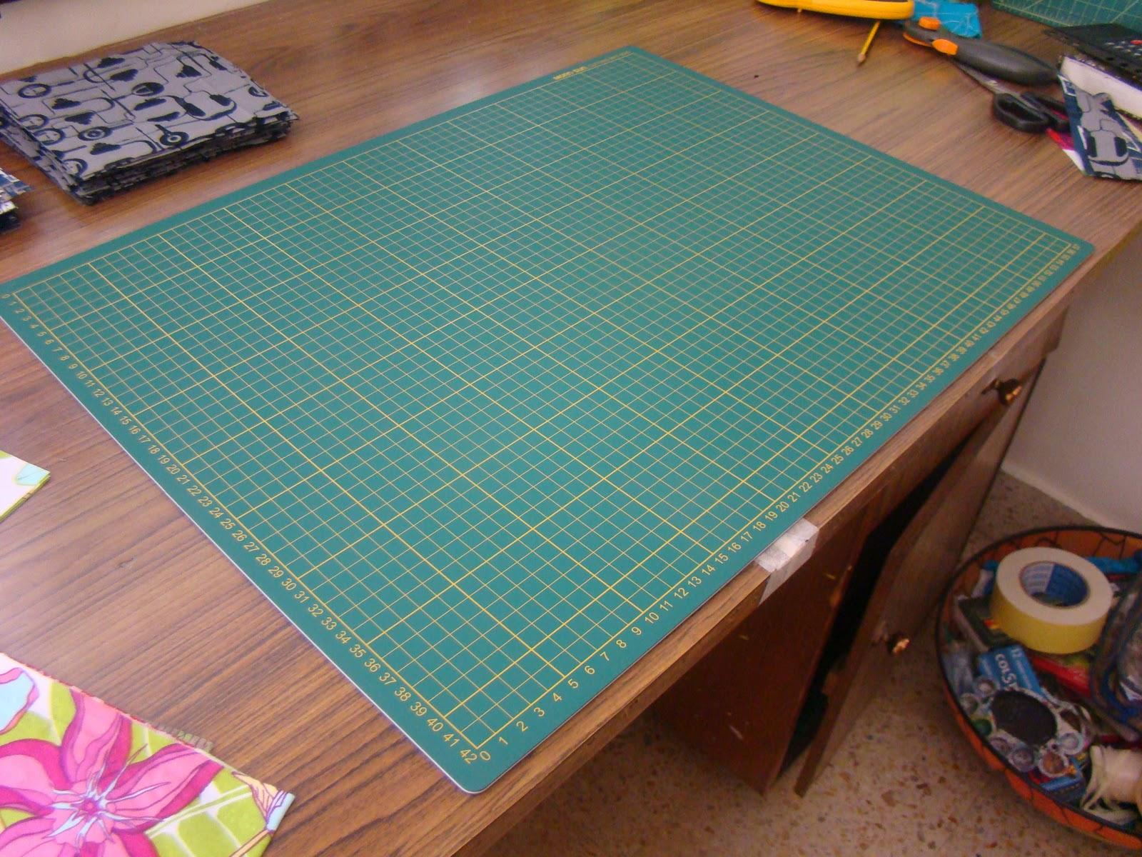 Quilting in India: Found a cutting mat.