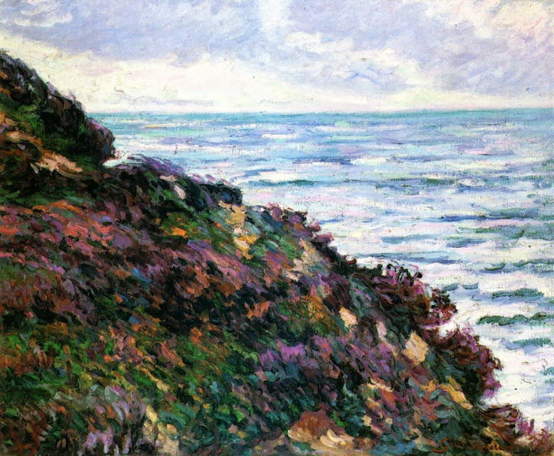 Armand Guillaumin - Seascape