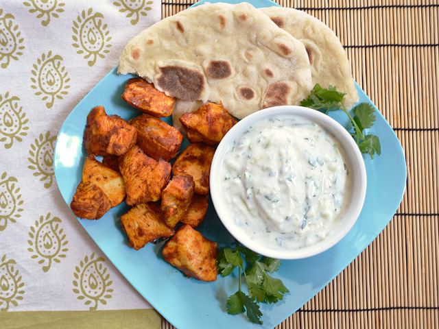 Tandoori Chicken Bites