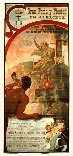 Cartel Feria Albacete 1914