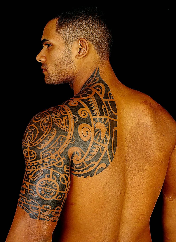 the rock tribal tattoo popular
