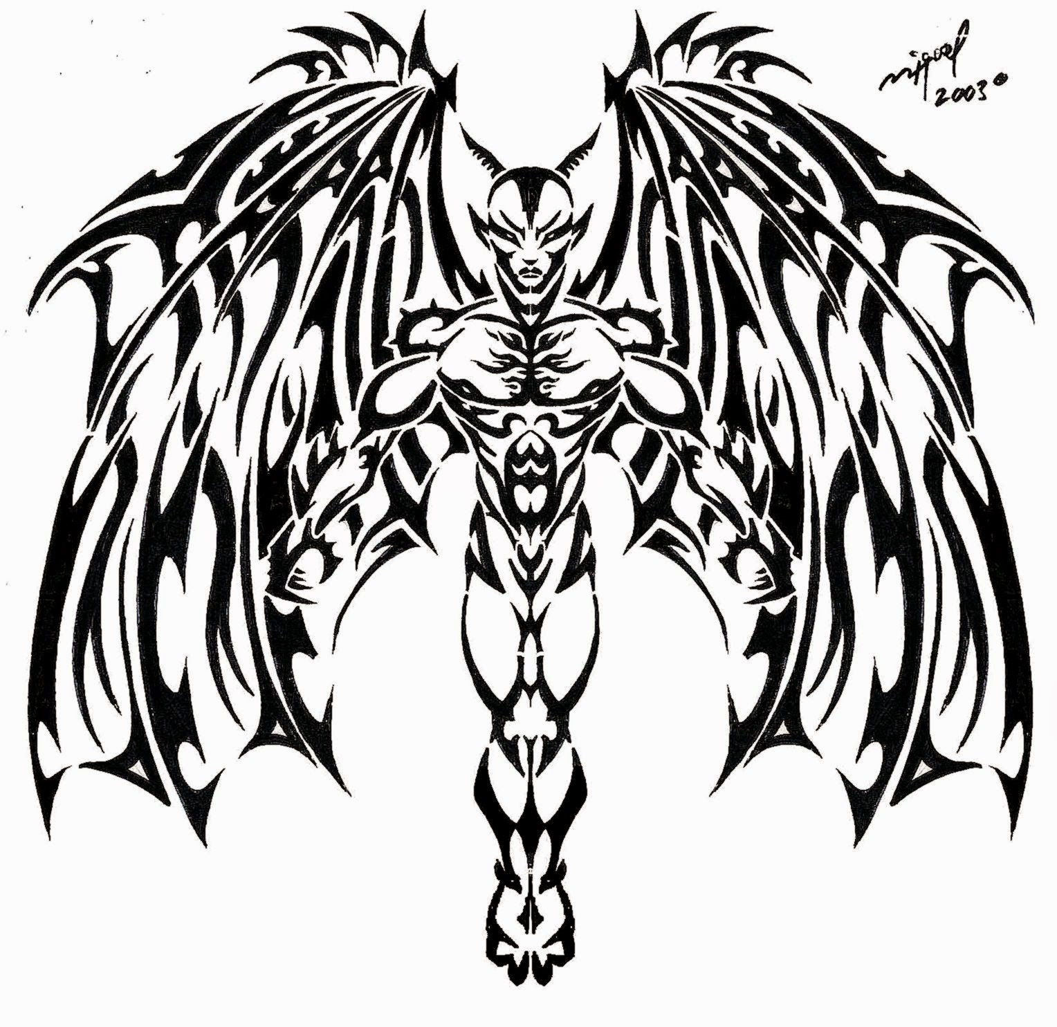 devil tatoo tatoo pictures ideas. Black Bedroom Furniture Sets. Home Design Ideas