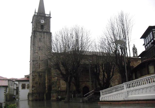 Iglesia de San Cristobal en Comillas
