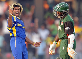Lasith blasted the tail of Kenya as struck with hat-trick, Sri Lanka v Kenya, Group A, World Cup 2011, Colombo, March 1, 2011
