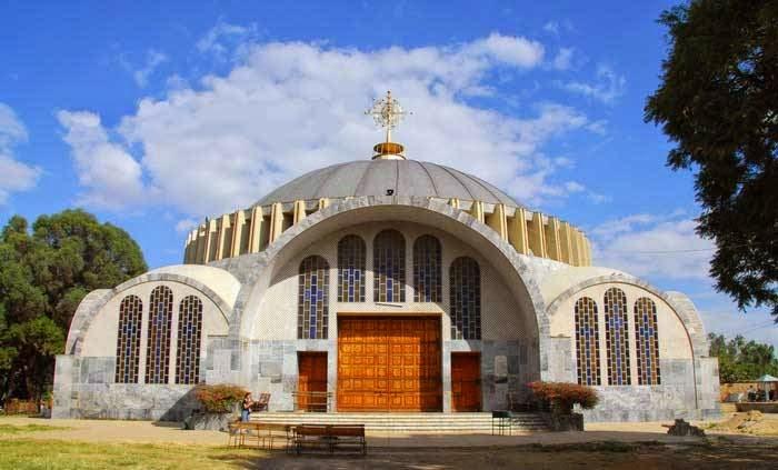 Церковь Святой Марии в Эфиопии