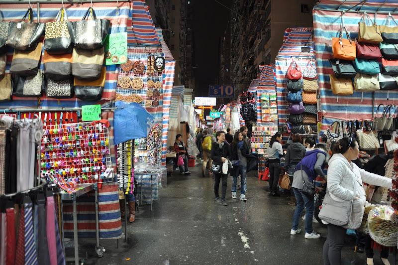 Ladie's market в Гонконге