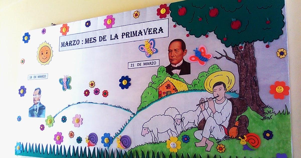 Lalicenciadoadolfo periodico mural del mes de marzo for Avisos de ocasion el mural