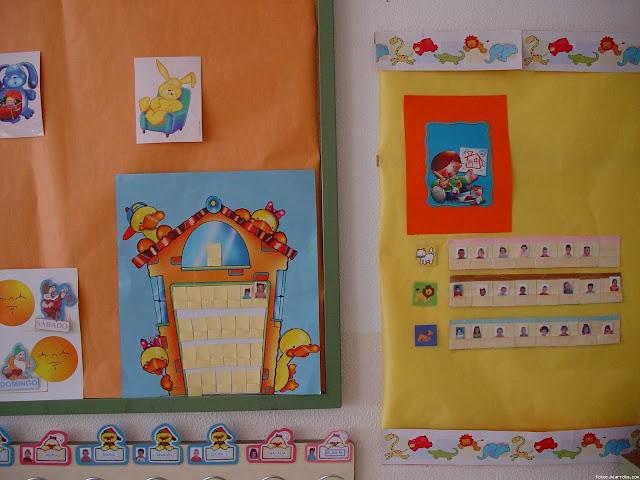 Preescolares ideas para decorar el aula for Actividades para el salon de clases