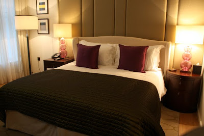 Standard room at the Corinthia Hotel in London England