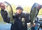 8位 荻野英貴選手 2本670g(870gでしたが、記入ミスで-200gペナ残念) 2012-11-26T03:06:31.000Z