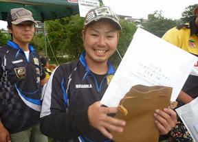 年間10位 天野正海プロ 表彰2