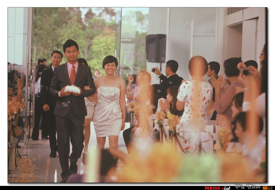 *ist+過期底片+朋友的婚禮
