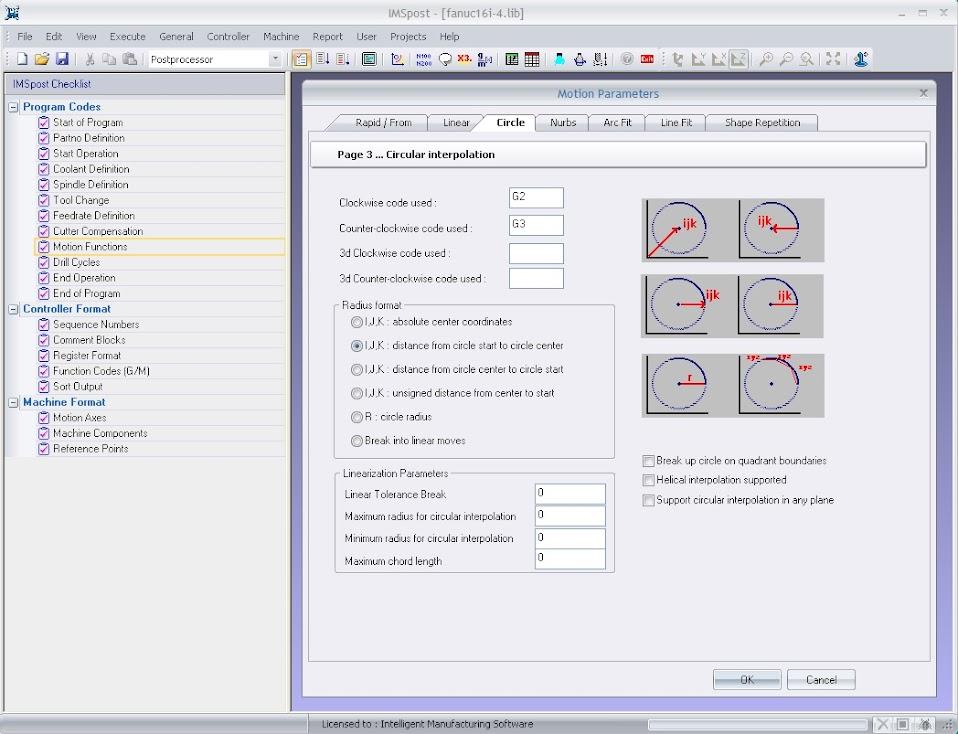 Windows-интерфейс и Проводник процесса (Check List) делает IMSpost™ средством, легким в освоении и удобным в эксплуатации