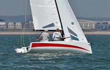 J/70 sailing United Kingdom