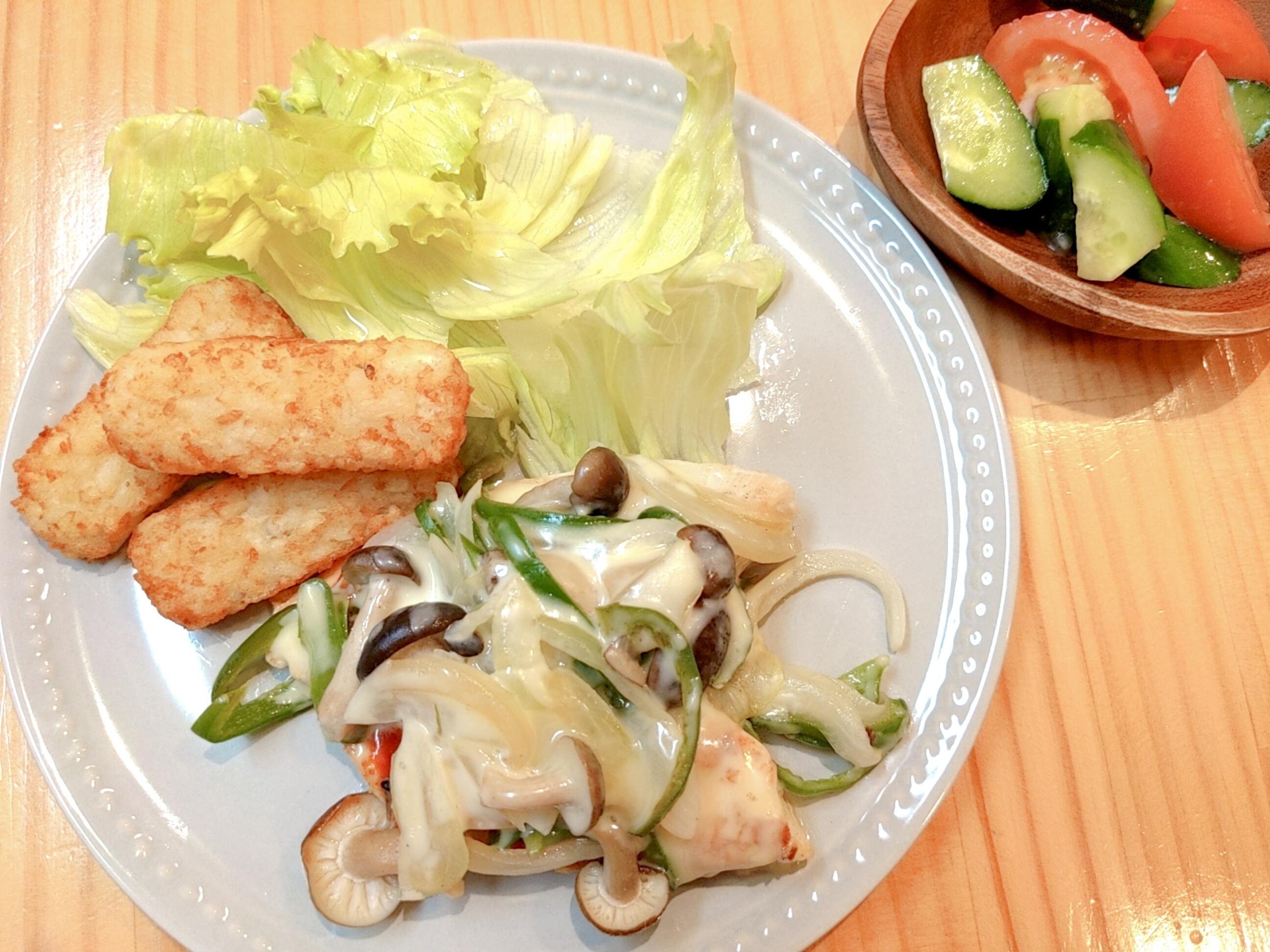 *ママレポ*子どもと一緒に夕食作り。時短で、栄養計算までお任せ!便利なサンクック。