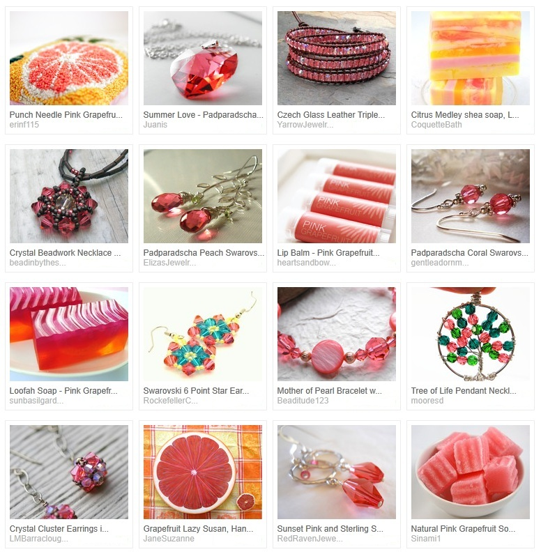Pink Grapefruit Treasury