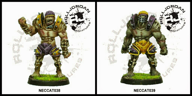 Golems Blood Bowl RollJordan Miniatures