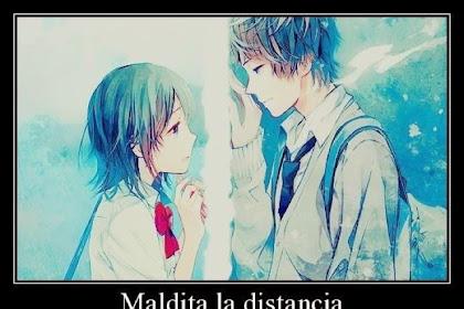 Distancia Anime Te Amo Frases De Amor
