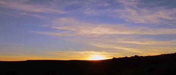 Sunset on Friday evening