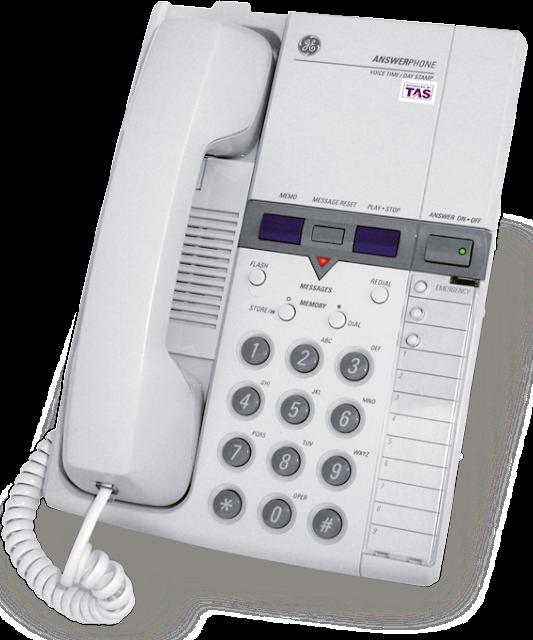 Τηλεφωνητής-Τηλέφωνο GE 2-9892