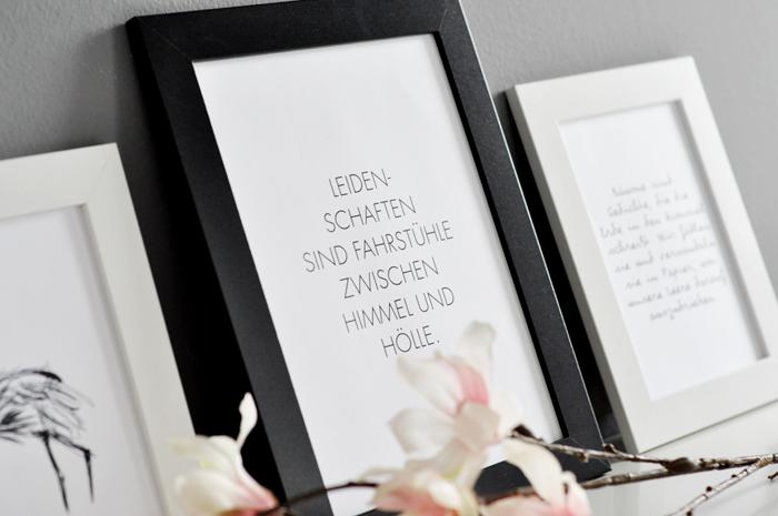 diy blogger for spring love on walls my mirror world. Black Bedroom Furniture Sets. Home Design Ideas