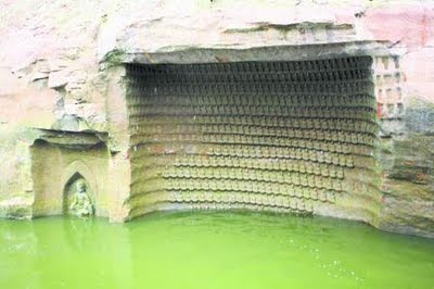 Thousand Buddha Cliffs Discovered In China Image