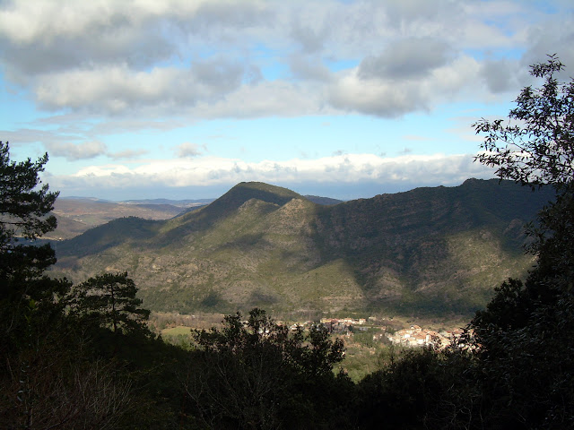 The view across the valley