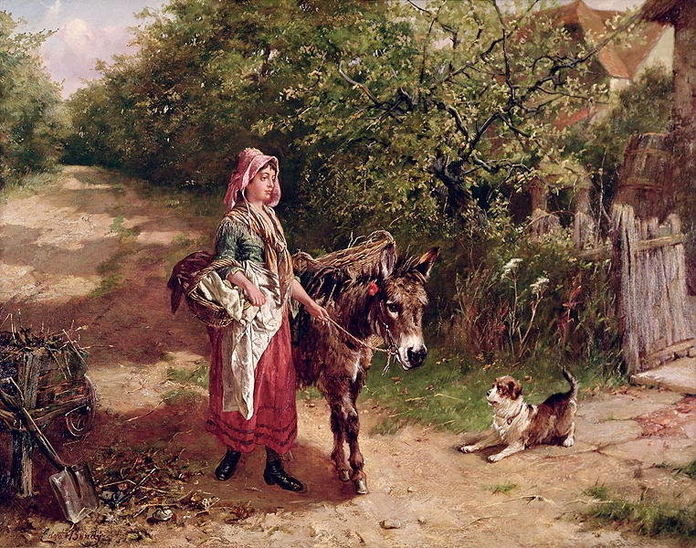 Edgar Bundy - Home from Market.