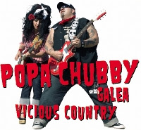 CD Recensie: Popa Chubby with Galea - Vicious Country