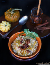 Thumbnail image for Pumpkin Pie Oatmeal on a Chilly November Morning