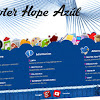 Footer Hope Azul para Blogger