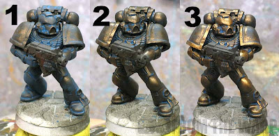 Minotaur armour patina effect