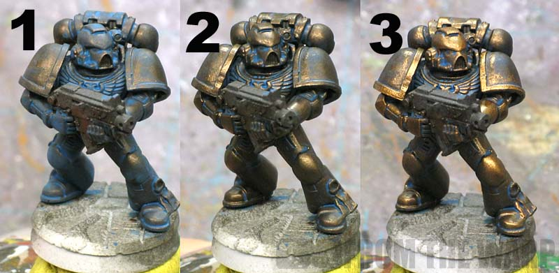 How To Paint Worn Metal Warhammer