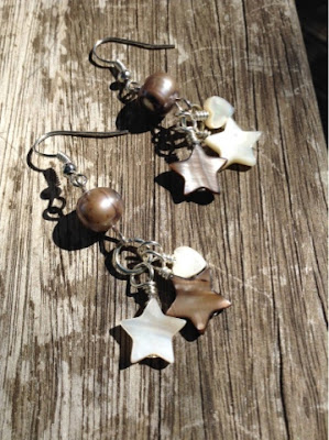 Maria Made It Stars and Hearts earrings
