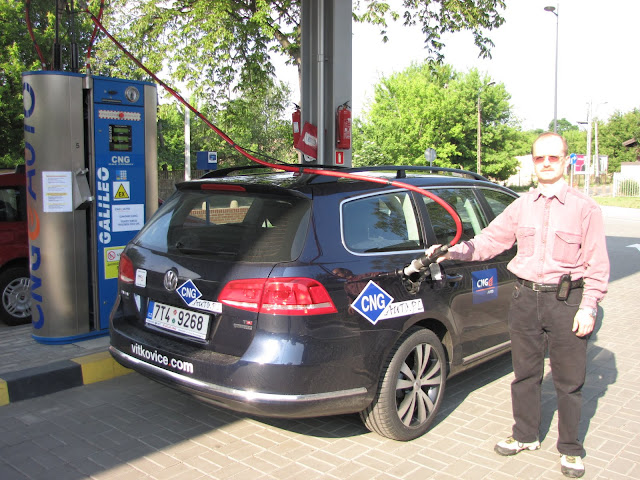 VIII Supertest Ekonomii 2011 - III miejsce VW Passat EcoFuel (CNG)