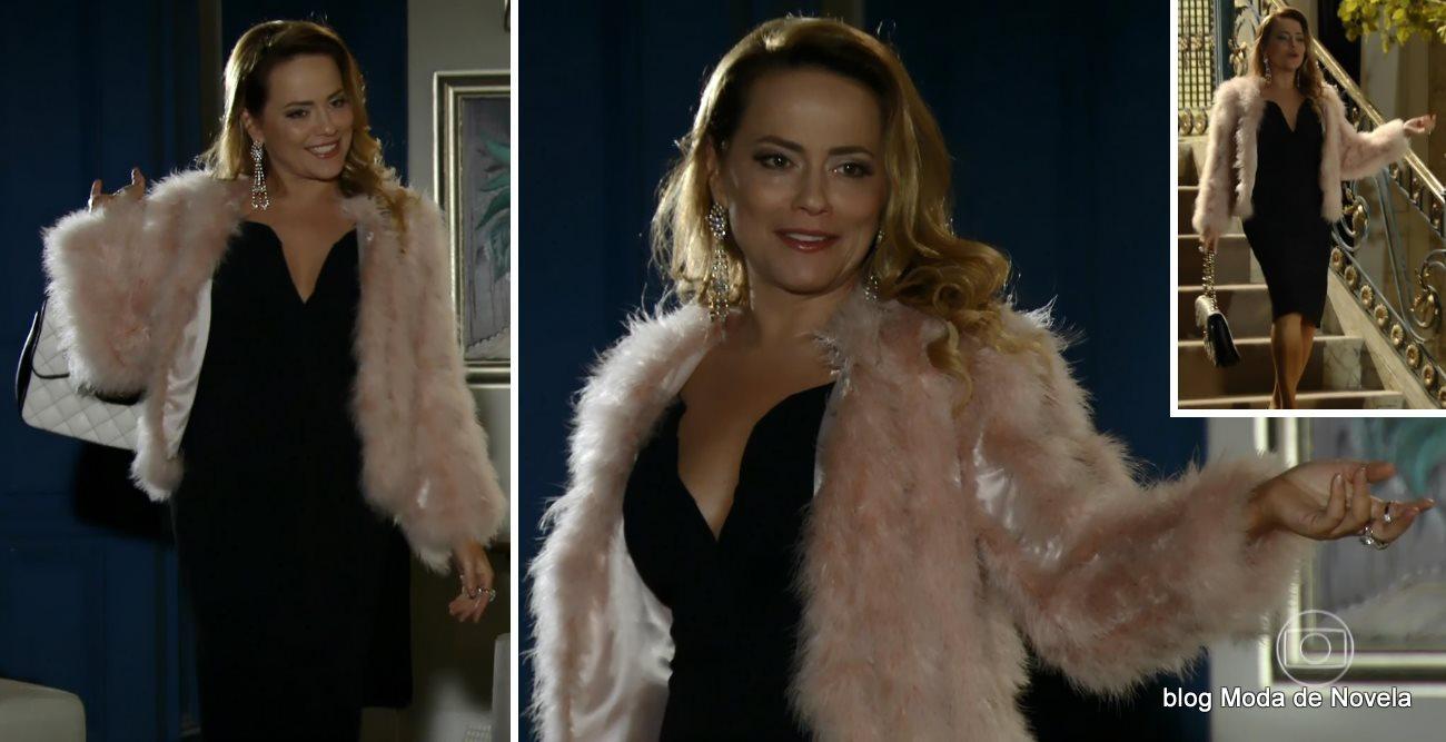 moda da novela Em Família - look da Shirley dia 4 de junho