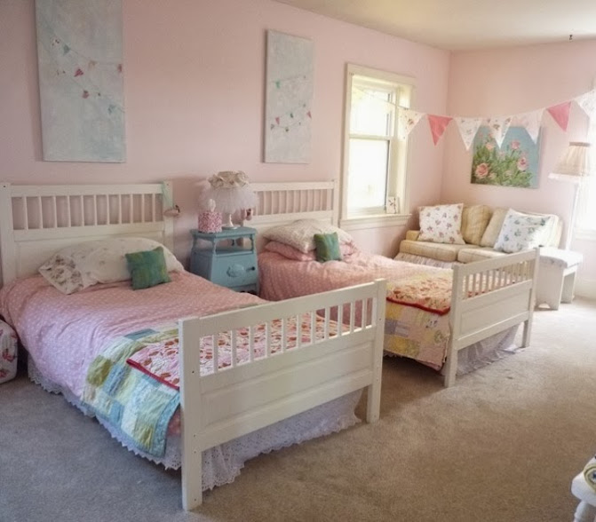 Bedroom Shabby Chic Wallpaper: Shabby Chic Bedroom Ideas For Teenage Girls