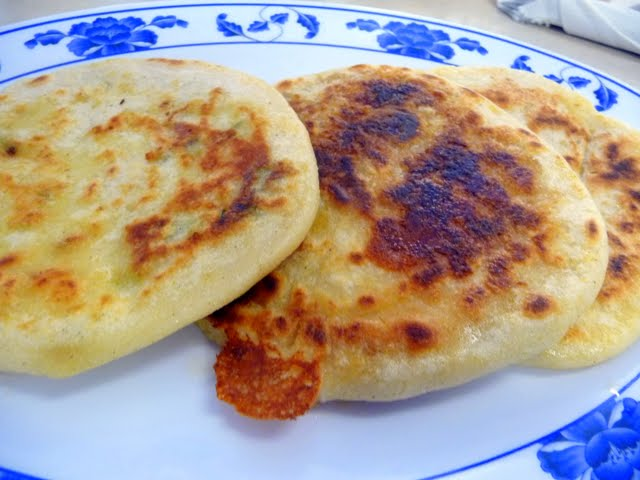 Pupusas at Sabor Salvadoreño