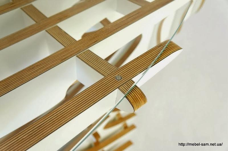 Фурнитура для установки стеклянной столешницы