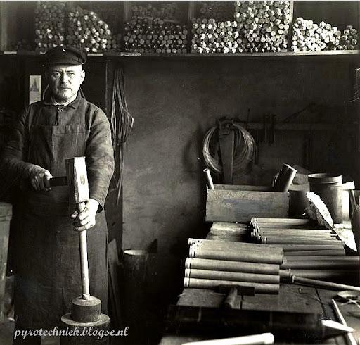 vuurwerk pyrotechniek ipa schuurmans leeuwarden 1930