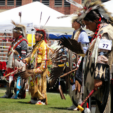 29th Annual #UCLA #PowWow , celebrating with #NativeAmericans.